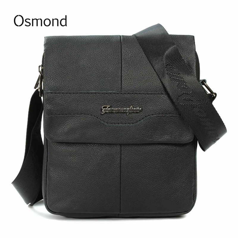 все цены на  Osmond Hot Sell Men Bags Famous Brand Design Leather Casual Business Mens Messenger Vintage Fashion MAN Crossbody Shoulder Bag  онлайн