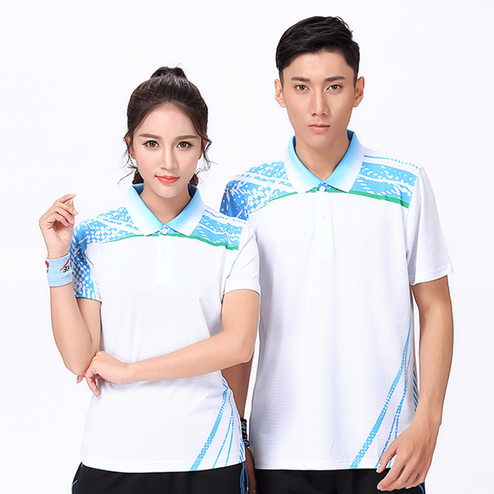 New Badminton wear shirt Women/Mens , Table Tennis shirt , sports Tennis shirt , Quick dry sportswear T SHIRT 8805