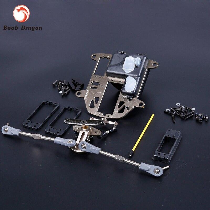 ФОТО BAJA CNC Alloy Symmetrical Steering Kits (plastic rod version)  for1/5 HPI Baja 5B SS 5T 5SC Rovan King Motor