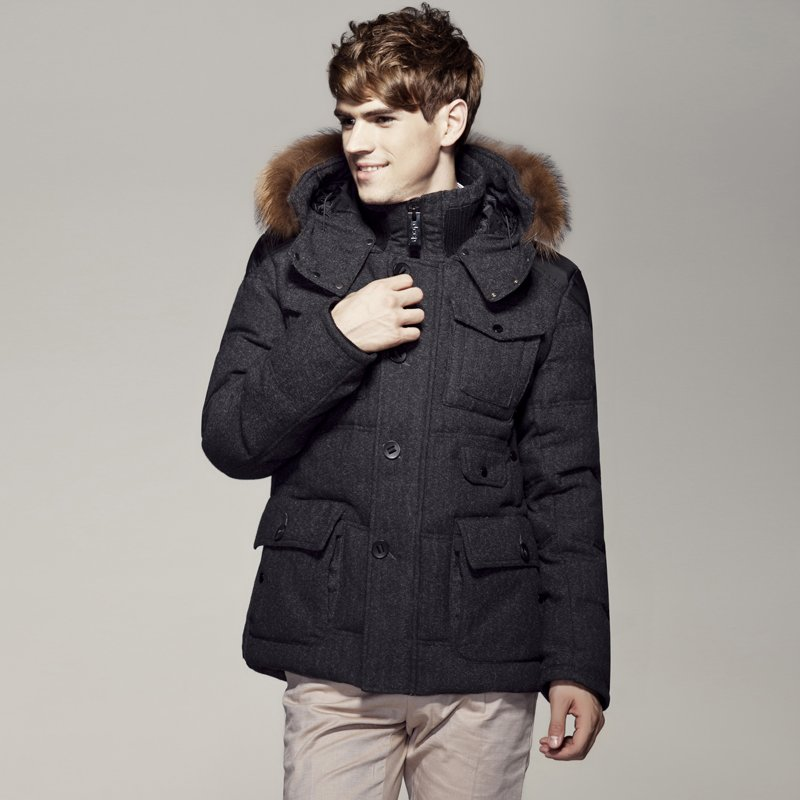 4aa878bb058 Fashion men s down coat men s winter overcoat down jacket winter men s  clothing fashion brand coats   jackets 2013 D017-in Parkas from Men s  Clothing on ...