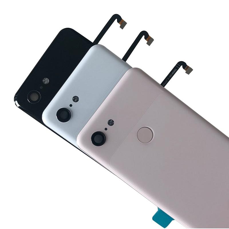 """Image 2 - Original M&Sen For 5.5"""" HTC Google Pixel 3 GLASS Back Battery Cover Case+Fingerprint+Glass Lens For Google Pixel 3 Rear Housing-in Mobile Phone Housings & Frames from Cellphones & Telecommunications"""