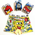 3 pçs/lote meninos underwear crianças cuecas underwear dos desenhos animados calcinha boxer de algodão crianças cuecas calcinha calcinha pt-w278r