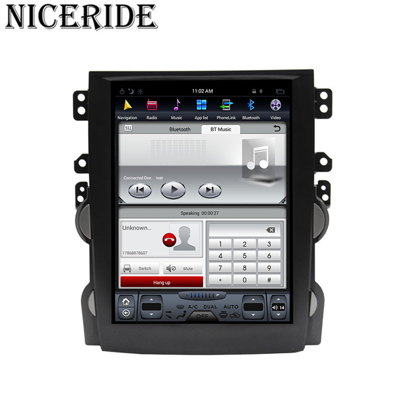 """Clearance Android 7.1 10.4"""" Tesla Vertical Touch Screen Gps Multimedia for Chevrolet Malibu 2010-2014 Video Radio Player In Dash Navigaton 2"""