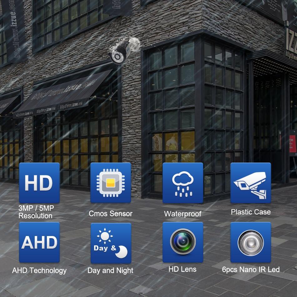 Smar Super HD 3MP5MP AHD Camera Surveillance CCTV Analog Camera High Resolution IR Cameras PAL NTSC Outdoor Video Cameras (1)