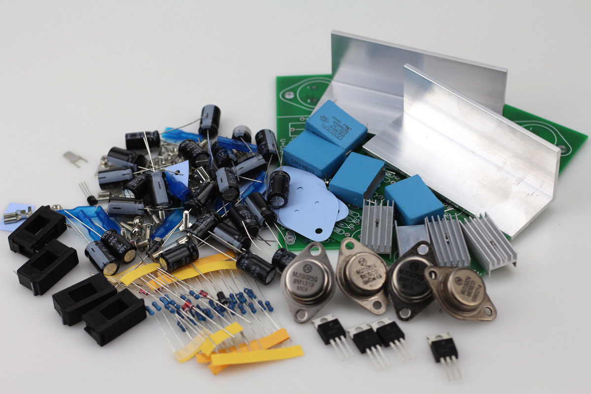 GZLOZONE One Pair Regulator Power Supply Kit For NAP250 135 Amplifier DIY