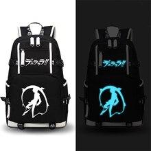 Рюкзак для путешествий с принтом Durarara 3Way, школьный рюкзак с рисунком из мультфильма, вместительный рюкзак для ноутбука, сумка для книг в стиле аниме