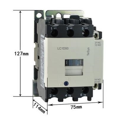 50A switches AC contactor voltage 380V 220V 110V 36V 24V 220v ac 110v nano 50 100