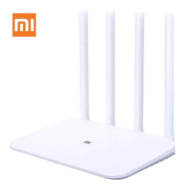 Tiểu Mi Mi Router WIFI 4 Wifi Repeater Tốc Độ 1167 Mbps Thông Minh 4 Ăng Ten Mạng Gigabit Băng Tần Kép Core 2.4/ 5G sử Mi Wifi