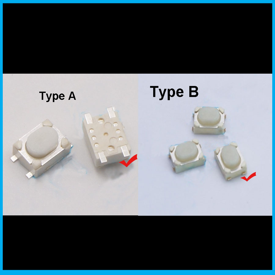 42x32x25mm Car Key Remote Control Tact Push Button Switch Micro 5mm 2 Types 3425mm In Switches From Lights Lighting On
