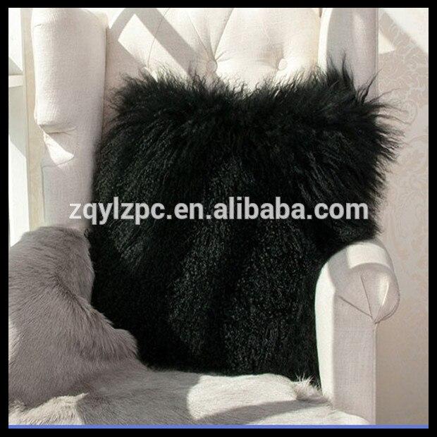 Online kopen wholesale schapen bont kussen uit china schapen bont kussen groothandel - Kussen bont grijs ...