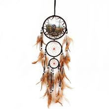 Indian Style Dream Catchers Handmade Decorative Wall Hanging Ornaments for Bedroom Party