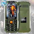 2016 New Year Gift Dustproof Phone Celular IP67 Waterproof ShatterProof Mobile Phone 2200mAh Long Standby Outdoor Army Two LED
