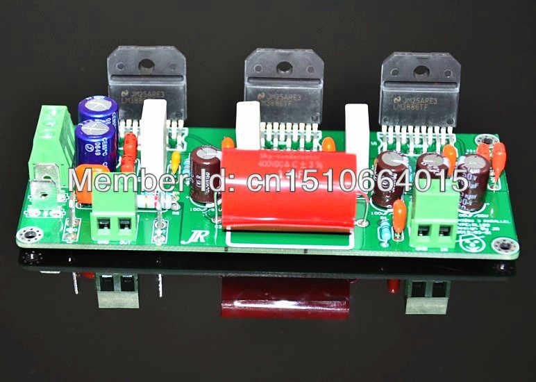 Отделка сварные три параллельно LM3886 3 параллельно Усилитель Моно усилитель доска LM3886 усилитель полностью собранный и проверенный