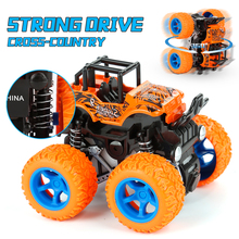 1:64 4WD Inertia Rotatable Diecast Car Toys For Kids Self Rotation 360 Otating Stunt Off-road Vehicle  Model Inertial Car Toys