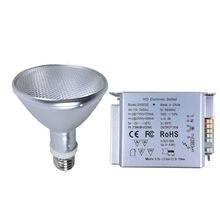 Réptil uvb uva lâmpada de calor hid lâmpada + lastro novo animal estimação lâmpadas 35/50/70/w cuidados de saúde lâmpada para répteis lagarto cobra tartaruga