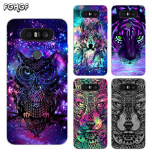 Painted Pattern Soft Rubber TPU Case For LG Q8 Q7 Q6 G6 G7 G5 G4 V40 V30 V20 V10 Transparent Cover All Star Animals