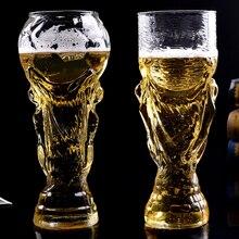 Абсолютно Новая креативная футбольная игра Хрустальная чашка дизайн Хрустальная пивная стеклянная чашка пивная кружка для воды барная посуда вечерние 350 мл 450 мл