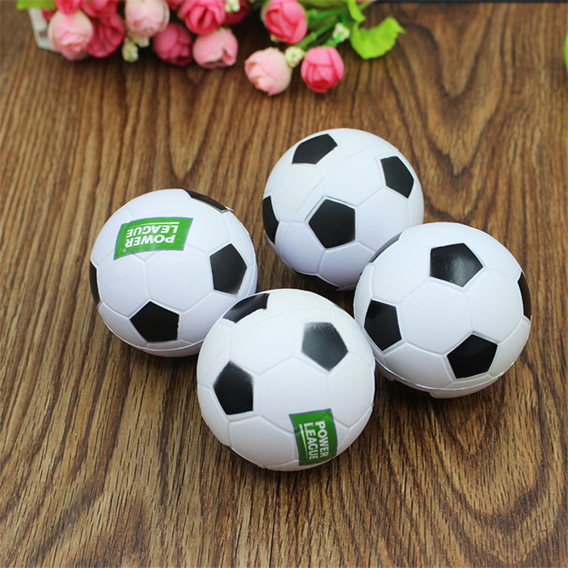 7cm Squishy Football Jumbo Stress Stretch Doll Strap DIY Decor Soft Squeeze Slow Rising Simulation PU Soccer Kids Bauble Toys