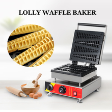 цена на Christmas Tree Style Stainless Steel Waffle Baker Commercial Electric Non Stick Waffle Maker Cake Oven Snack Bakery Machine