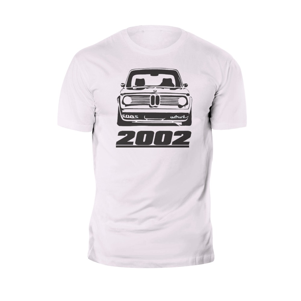 2018 Men T Shirt Fashion printing casual tops Classic Retro 2002 Turbo Front Race Tee Design Men T-shirt