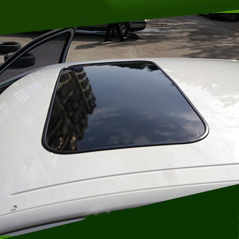 8Car sunroof modified simulation sunroof panoramic sunroof film roof film personalized stickers fake sunroof stickers 80 40