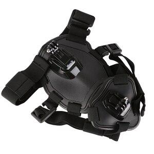 Image 3 - לירות להביא כלב רתם חזה רצועת עבור GoPro גיבור 9 8 7 5 מושב SJCAM SJ4000 M20 Xiaomi יי 4K H9r DJI פעולה מצלמה אבזר