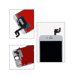 Image 5 - 10 adet sınıf AAA LCD ekran iPhone 6S için LCD değiştirme ve dokunmatik ekranlı sayısallaştırıcı grup ekran yok ölü piksel ücretsiz DHL