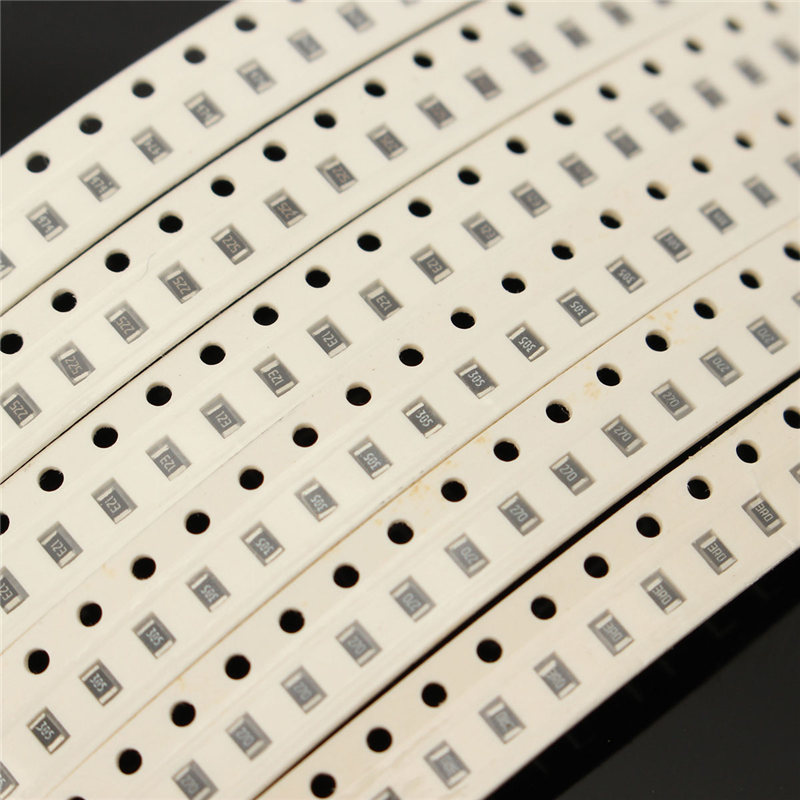 170 Value 0805 SMD Resistor Kit (0R~10MR) 1/8W 5% 4250(20x 170)pcs RoHS New Electric Unit