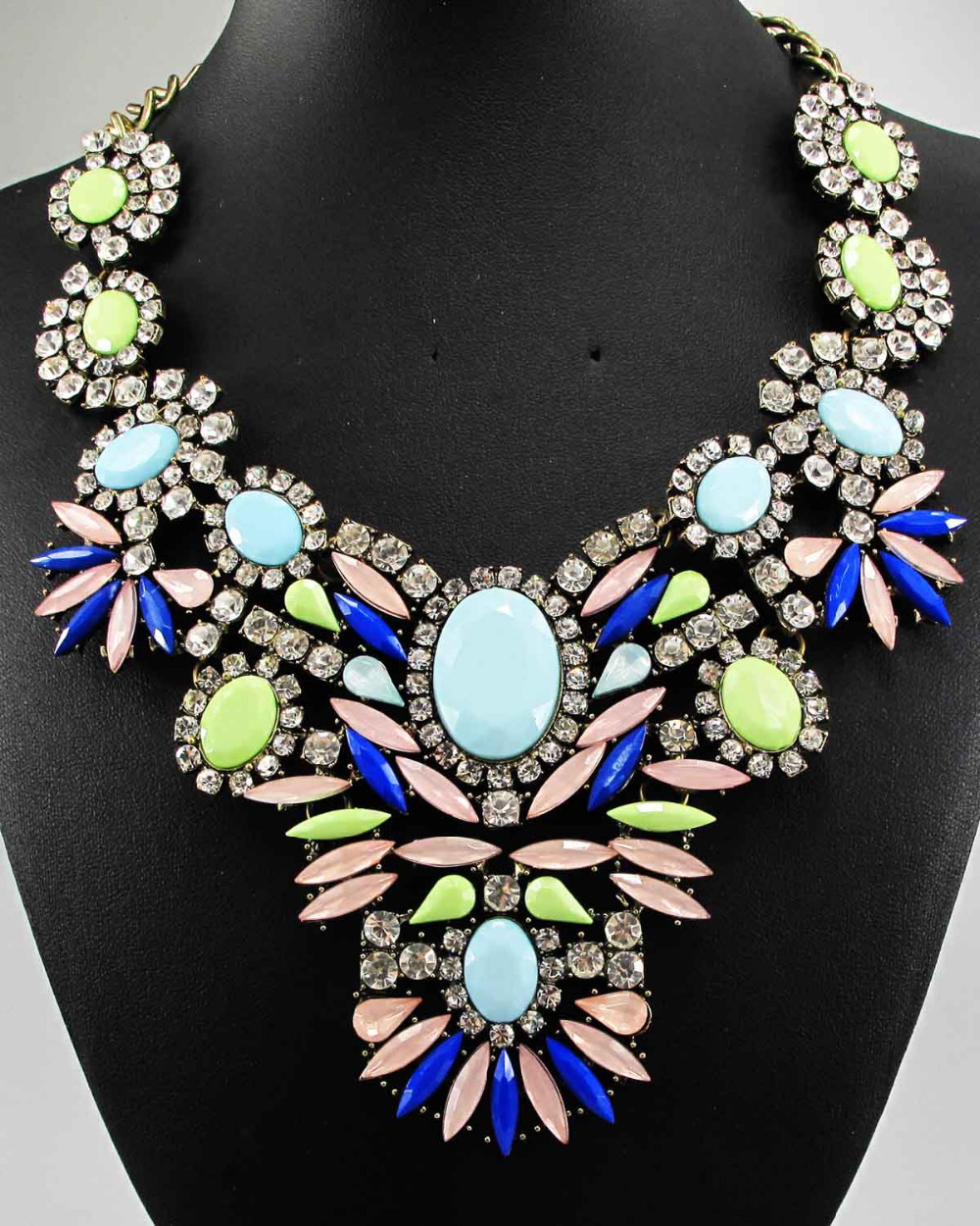 Newest Gorgeous Fashion Necklace Jewelry crystal Department ...