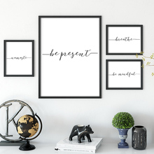 Nordic Style Wall Art Canvas Painting Simple Letter Posters And Prints Cuadros Decoracion Wall Pictures For living Room Unframed цена и фото