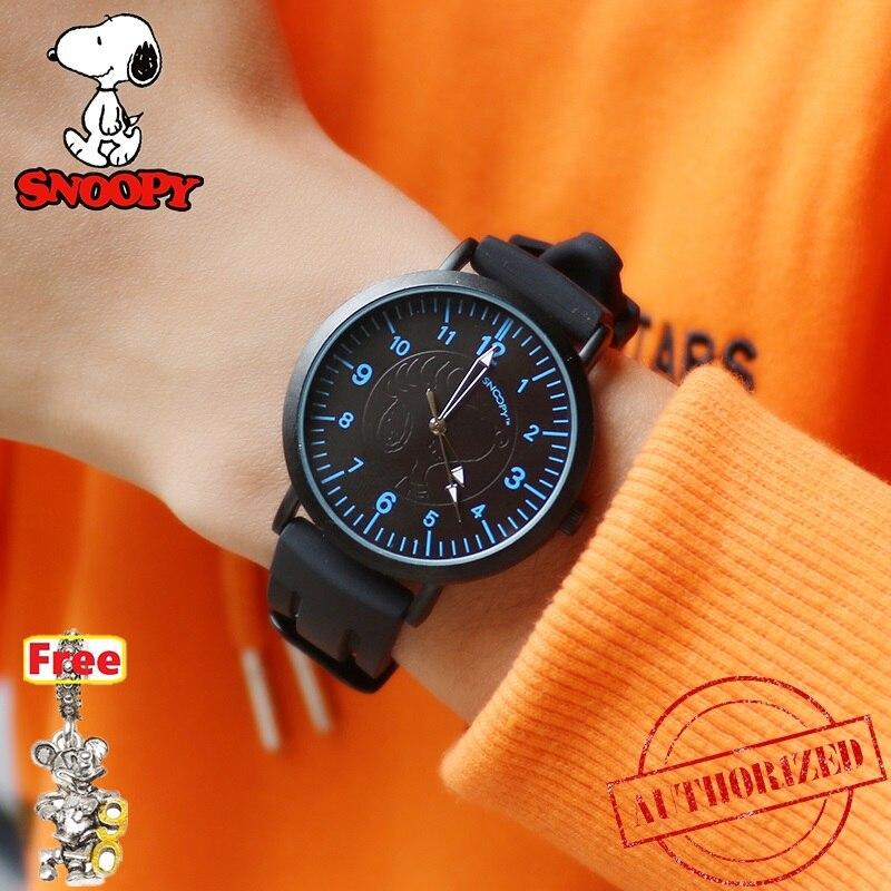Snoopy Boy Watches Silicone Strap Quartz Sport Watch Kids Fashion Relogio Masculino Men Male Quartz Watch Famous Brand Clock 789