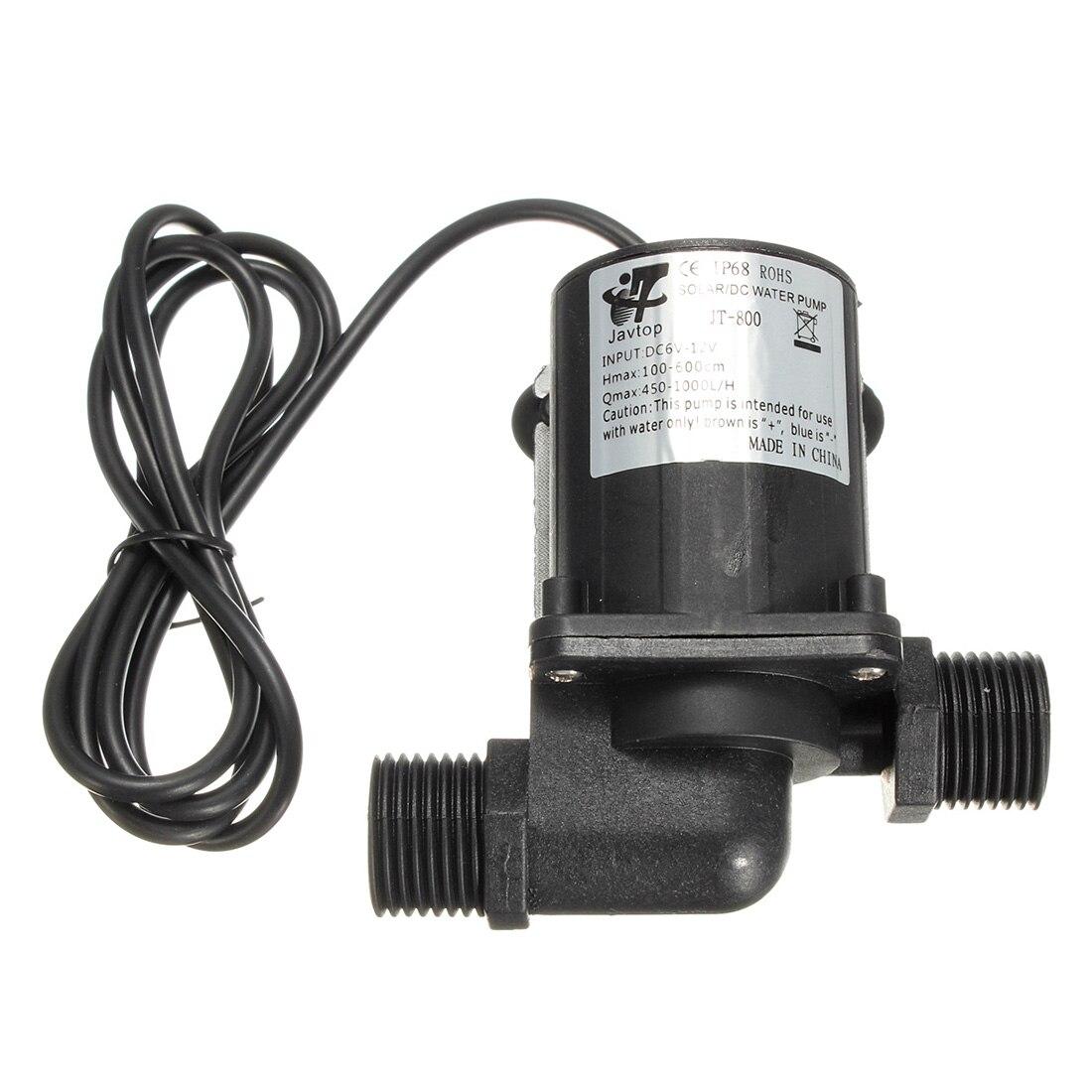 1000 l h aquarium fish tank powerhead jp 023 - Wholesale 5pcs Dc 12v Electric Solar Brushless Motor Water Pump Aquarium Fountain 1000l