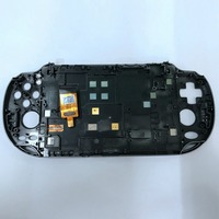 Replacement NEW Front Touch Screen Panel for PSVita 1000 PSV100 LCD Screen Display Touch Digitizer with Frame Faceplate Parts