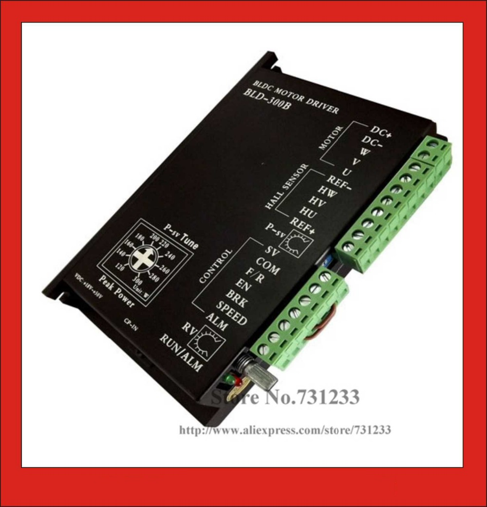 лучшая цена 24V 36V48V BLDC Motor Driver 300W 18V-50V DC Brushless DC Motor Driver Controller BLD-300B