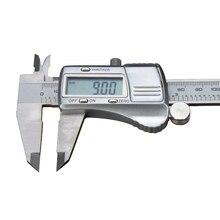 0-150mm Sliver Stainless Steel Digital Electronic Caliper Rule Measuring Tools Metalworking Vernier Gauge Micrometer AT2085