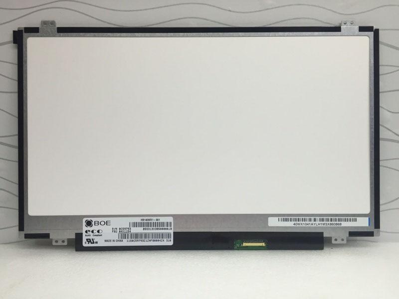 For BOE HB140WX1 301 HB140WX1 301 Matrix for Laptop 14 0 LED Display 1366X768 HD eDP