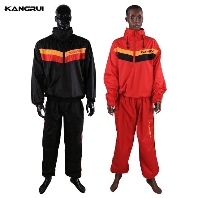 KANGRUI Man Woman Unisex Fitness Loss Weight Sauna Suit Set Slimmer Slim Exercise Workout Sweat Sauna Suit 1