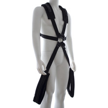 LYR357 Adult game plush bondage rope harness Sex Products Tools Role Play men Sex Slave Bundle Bound Shoulders Back Style