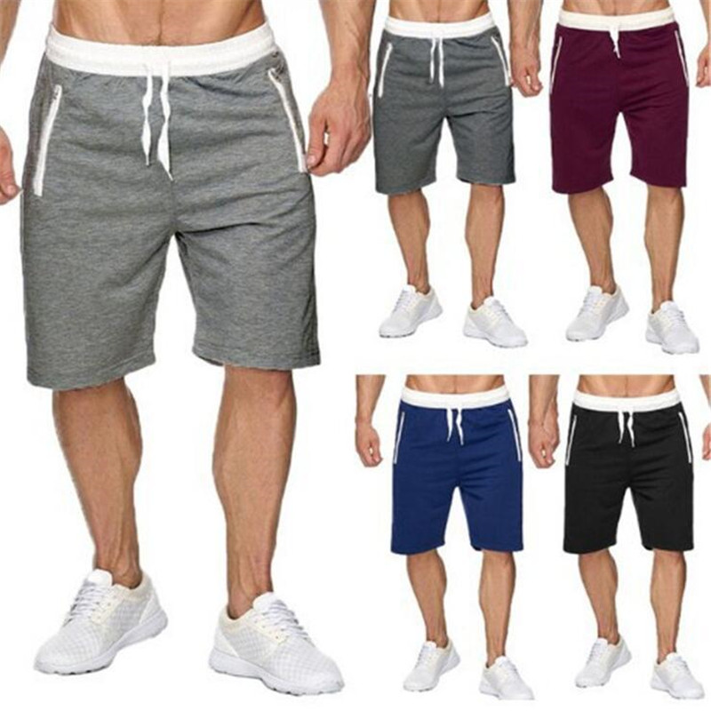 New Fashion Men Sporting Beaching   Shorts   Trousers Bodybuilding Sweatpants Fitness   Short   Jogger Casual Gyms Men big size   Shorts