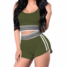 2019 MAXIORILL NEW Women's Striped Sexy Sport Active Tank To