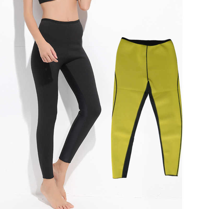 9a9837a503 Womens Hot Thermo Body Shaper, Neoprene Slimming Leggigns, Cropped Pants,  Thighs Fat Burner