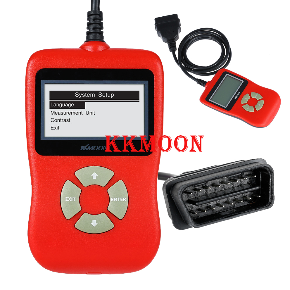Kkmoon obdii eobd car diagnostic scan tool code read scanner diagnostic trouble codes china