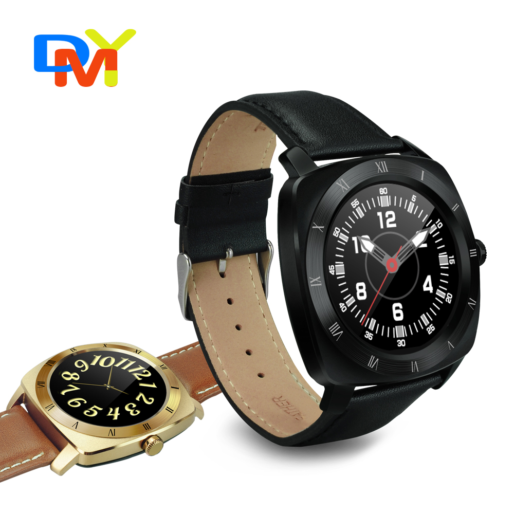 Smart Watch DM88 Clock Sync Notifier Support Bluetooth heart rate monitor Connectivity iphone Android Phone font