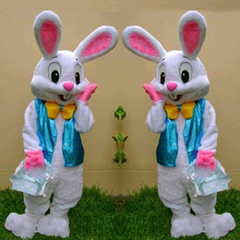 Easter bunny mascot cosutme rabbit cosplay fancy