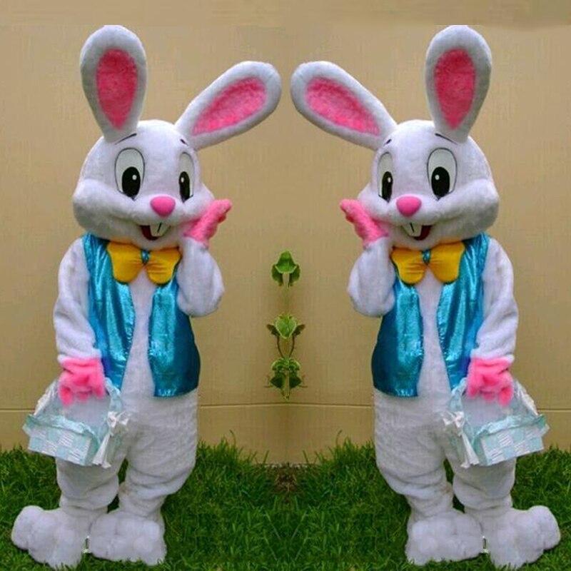 Mascotte de lapin de pâques cosutme mascotte de lapin de pâques mascotte fantaisie cosplay