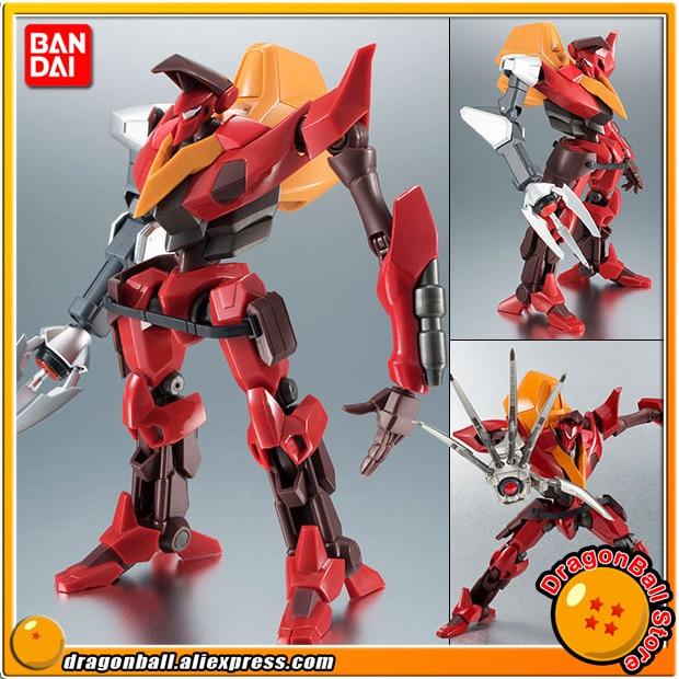 Anime Code Geass Original BANDAI Robot Spirits No. 225 Action Figure - Guren Type-02 (Kouichi Model Arm Equipped) цена