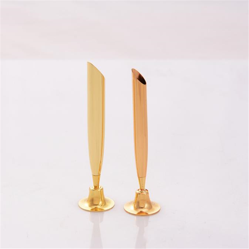 1pc Stand Fixed Gel Pen Holder For Bank Hotel Counter Front Desk Signature Form Filling Sign Name Swivel Rod Rotating Holder