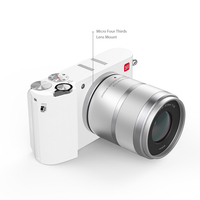 YI M1 Mirrorless Digital Camera Prime Zoom LCD 2 Lens Minimalist BLE WIFI RAW 20MP Video Recorder International Version White 4