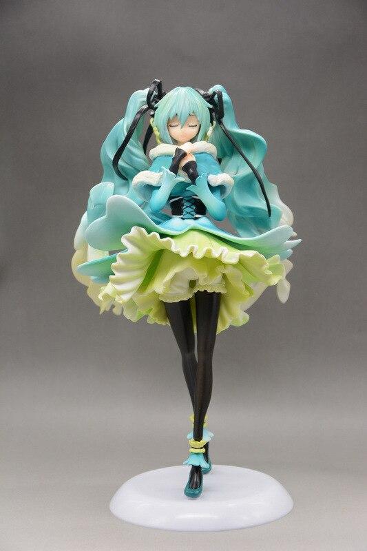 ФОТО 27cm Hatsune Miku Anime Collectible Action Figure PVC toys for christmas gift hot 2017