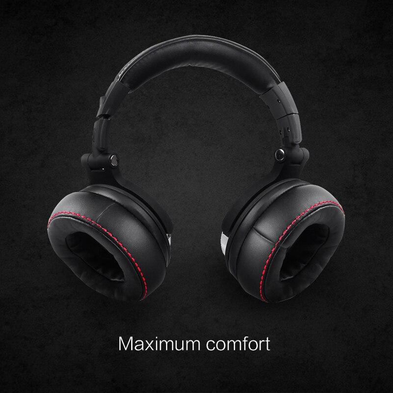 Wired Headphones with Mic Professional Studio Headphones 5